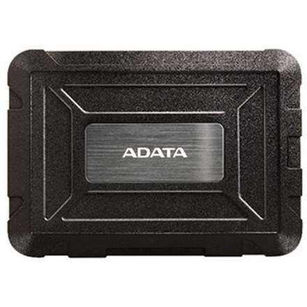 "ADATA ED600 SATA USB 3.0 2.5"" Rugged External HDD Enclosure - Black DRA900"