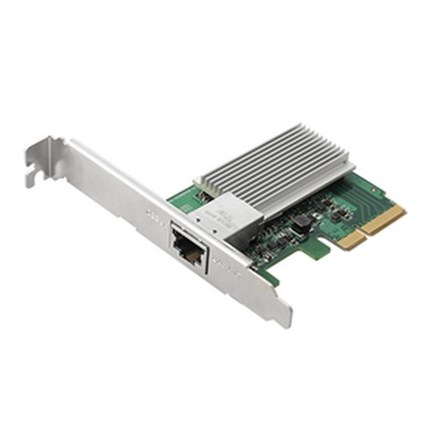AS-T10G PCI-E 10GbE Base-T RJ-45 Single Port Network Adapter NAS907