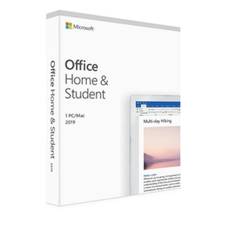Microsoft Office Home & Student 2019 1 PC/Mac No Media. PC0X71