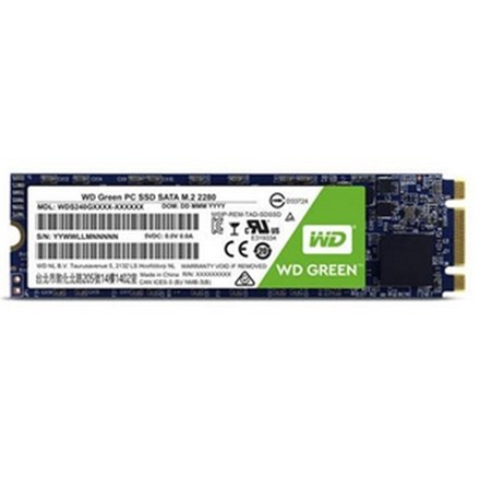 WD Green SATA M.2 2280 3D NAND SSD 240GB DX8540
