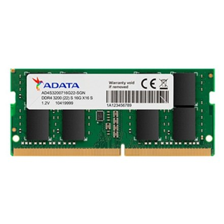 ADATA 16GB DDR4-3200 2048x8 SODIMM Lifetime wty NB2428