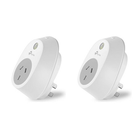 TP-Link HS100 Wi-Fi Smart Plug Kit - 2 pack TP8104
