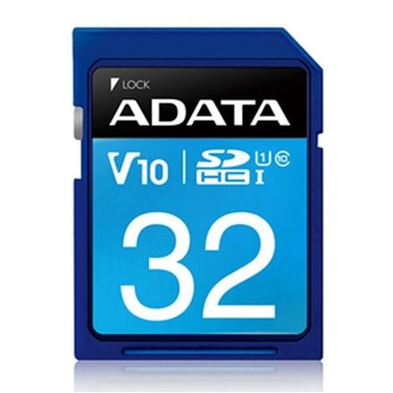 ADATA Premier UHS-I V10 SDHC Card 32GB FS161-X32