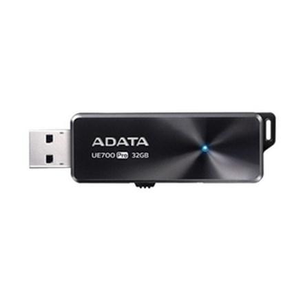 ADATA UE700 Pro Dashdrive Elite USB 3.1 32GB Black Flash Drive FP370-X32