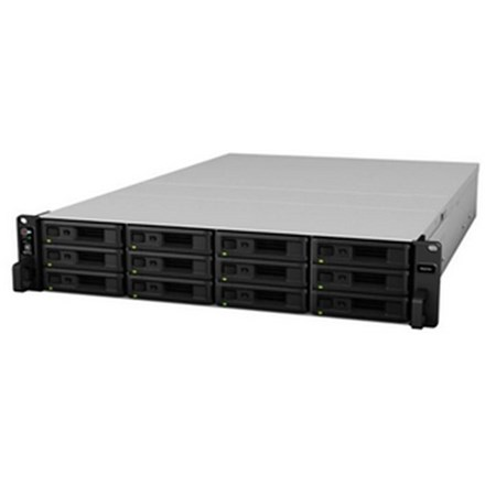 Synology RS2418RP+ 12 Bay Quad-Core 4GB RAM 2U R/Mount NAS 3Yr Wty SYNR41