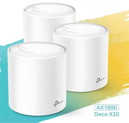 TP-Link Deco X20 Wi-Fi 6 Mesh Wi-Fi - 3 Pack AX1800 TP2421
