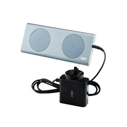 3SIXT Qi Wireless Aluminium 2 x 15W Charge Pad 3S-0966