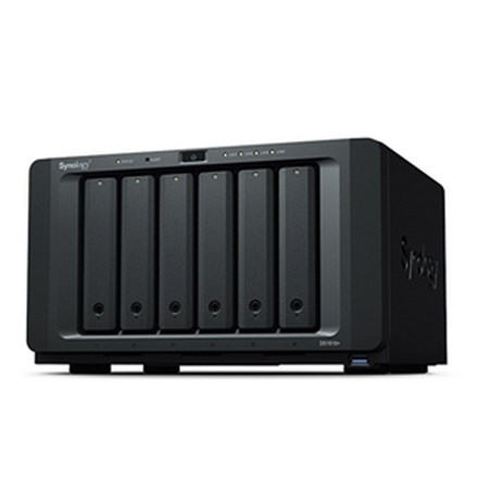 Synology DS1618+ 6 Bay Atom 2.1GHz QC 4GB RAM NAS 3Yr Wty SYN153