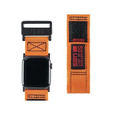 "UAG Apple Watch 44""/42"" Active Strap- Orange 10154626"