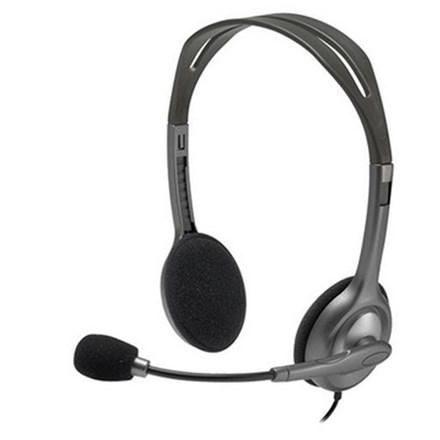 Logitech H110 Stereo Headset with Noise-Cancelling Microphone HC5014