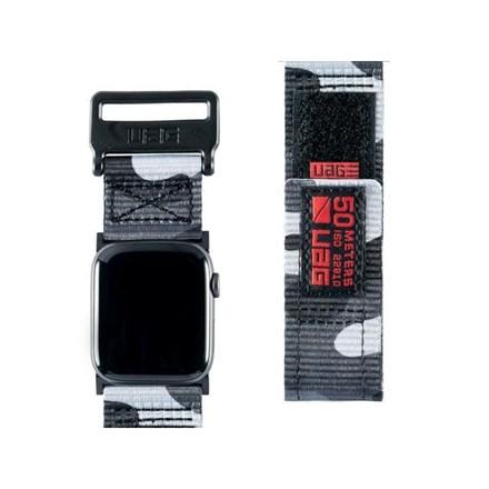 "UAG Apple Watch 44""/42"" Active Strap- Midnight Camo 10154628"