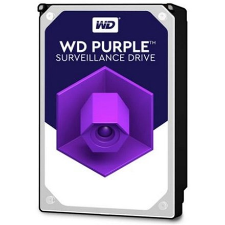 "WD Purple SATA 3.5"" Intellipower 64MB 2TB Surveillance HDD 3Yr Wty HD1928"