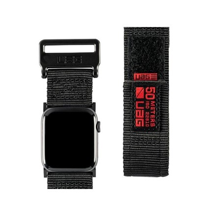 "UAG Apple Watch 44""/42"" Active Strap- Black 10154627"