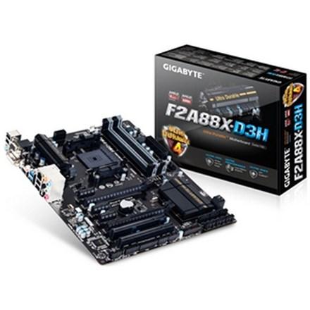 Refurbished Gigabyte F2A88X-D3H ATX DDR3 FM2+ no B/Plate 6 Month Wty ZMGA097#RC