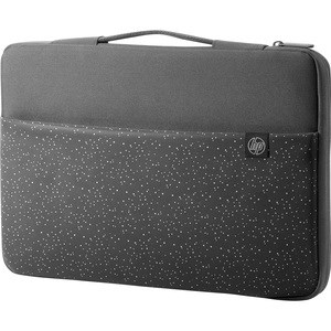 "HP Carrying Case (Sleeve) for 39.6 cm (15.6"") Notebook - Black, Grey - Water Resistant, Spill Resistant Interior, Splash Resistant Interior - Handle