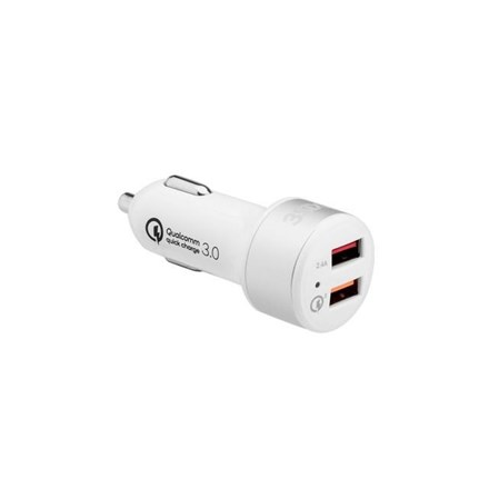 3SIXT Car Charger 5.4A - White 3S-1030