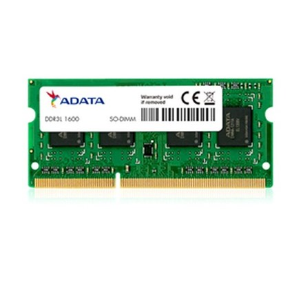 ADATA 8GB DDR3L-1600 PC3L-12800 1.35v SODIMM Lifetime wty NB23X17