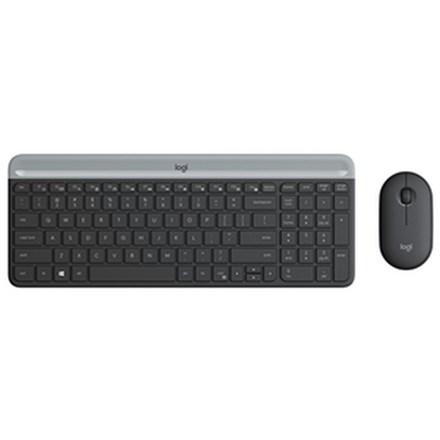 Logitech MK470 Slim Wireless Desktop Kit Black HW5257