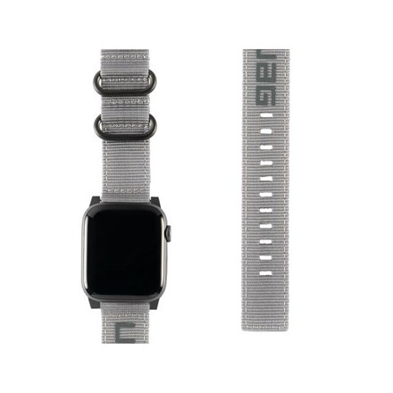 "UAG Apple Watch 40""/38"" Nato Strap- Grey 10154630"