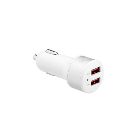 3SIXT Car Charger 4.8A - White 3S-1026
