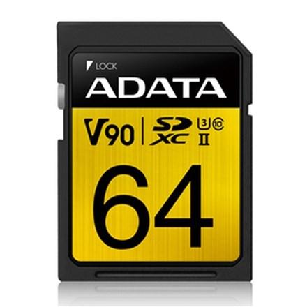 ADATA Premier ONE V90 UHS-II SDXC Card 64GB FS230-X64