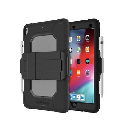 Griffin Survivor All-Terrain for iPad (10.2) - Black GIPD-016-BLK