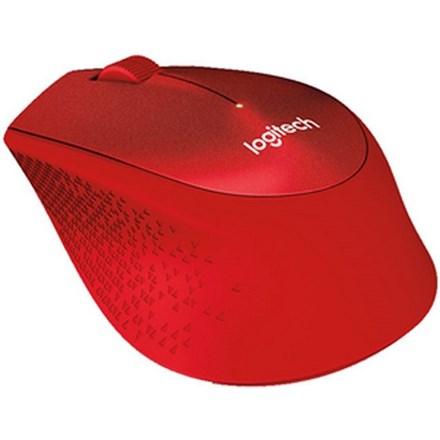 Logitech M331 Silent Plus USB Wireless Red IM5182