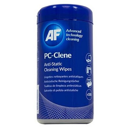 AF PC-Clene Anti-Static PC Wipes Tub CL115