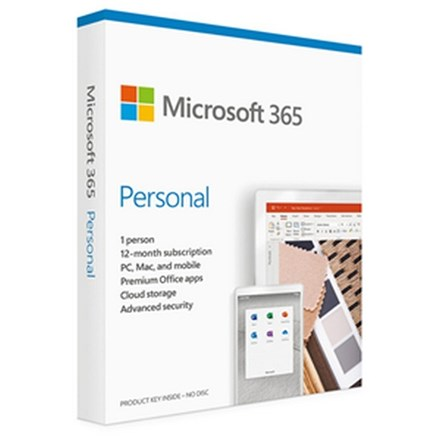 Microsoft 365 Personal - 1 User - 1 Year PC036