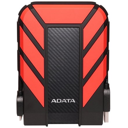 ADATA HD710 Pro Durable USB3.1 External HDD 2TB Red DRA514