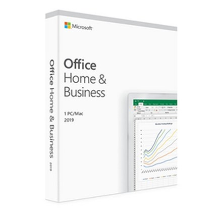 Microsoft Office Home & Business 2019 1 PC/Mac No Media. PC0X73
