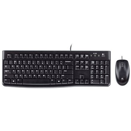 Logitech MK120 USB Wired Keyboard and Mouse HW5012