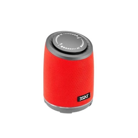 3SIXT Fury Wireless Speaker LED / Touch 10W - Red 3S-1666