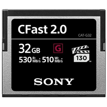 Sony CATG32 32GB G Series CFast 2.0 Memory Card FC161-G32