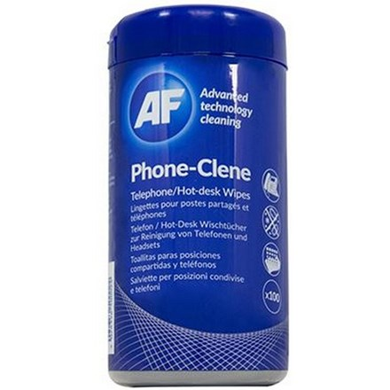 AF Phone-Clene Anti-Bacterial Phone Wipes Tub CL135