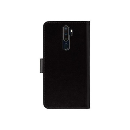 3SIXT Book Wallet for Oppo A5/A9 (2020) - Black 3S-1708
