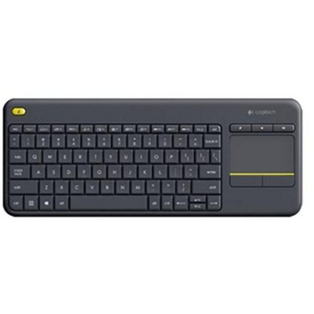 Logitech K400 Plus Wireless Keyboard with Touch Pad Black HW5128