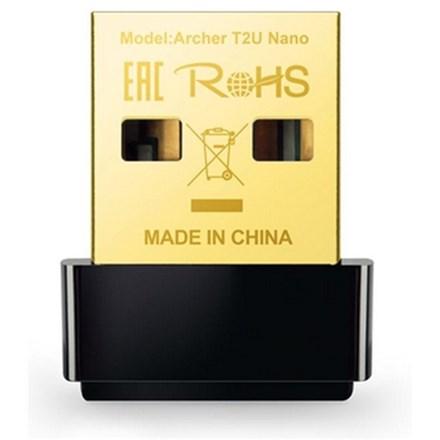 TP-Link Archer T2U Nano AC600 Wireless Dual Band USB Adapter TP2112