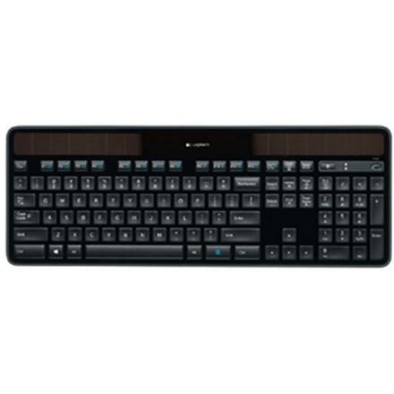 Logitech K750r Wireless Solar Keyboard - Black HW5161